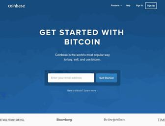coinbase.com screenshot