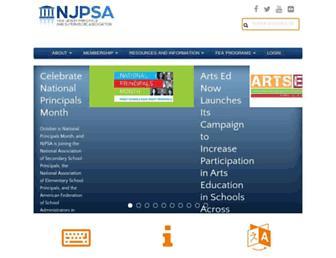njpsa.org screenshot