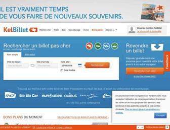 kelbillet.com screenshot