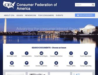 Thumbshot of Consumerfed.org