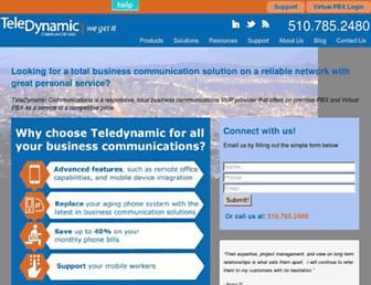 teledynamic.com screenshot