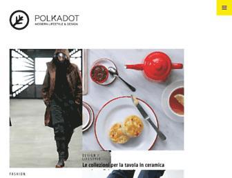 Main page screenshot of polkadot.it