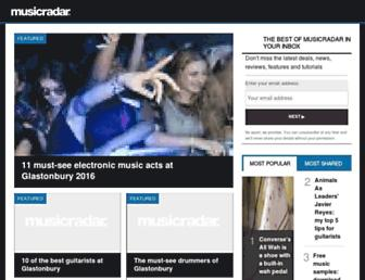 Thumbshot of Musicradar.com