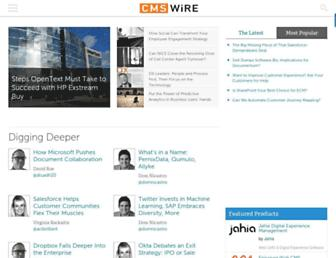 cmswire.com screenshot