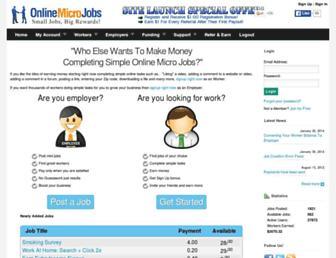Thumbshot of Onlinemicrojobs.com