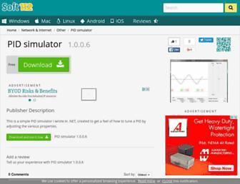 pid-simulator.soft112.com screenshot