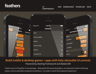 feathersui.com screenshot
