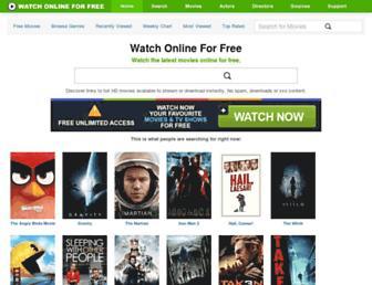 Thumbshot of Watchonlineforfree.co.uk