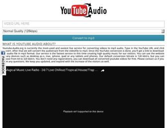 youtube-audio.org screenshot
