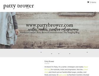 pattybrower.com screenshot