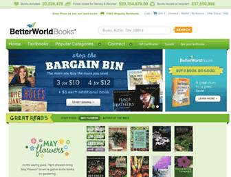 Thumbshot of Betterworldbooks.com