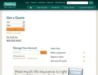 amica.com screenshot