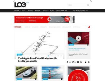 log.com.tr screenshot