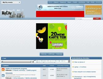 mycity.rs screenshot