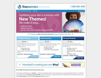 Thumbshot of Freeservers.com