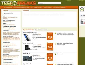 Thumbshot of Testfreaks.nl