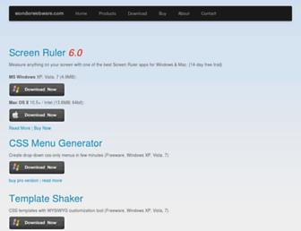Thumbshot of Wonderwebware.com