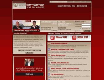 fnarena.com screenshot