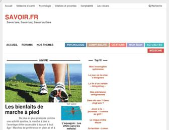 Fullscreen thumbnail of savoir.fr