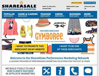 Thumbshot of Shareasale.com