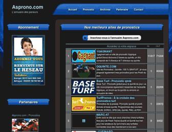 asprono.com screenshot