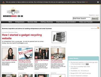 Fullscreen thumbnail of businesswings.co.uk