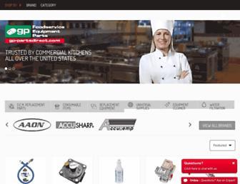 gp-partsdirect.com screenshot