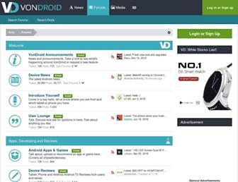 vondroid.com screenshot