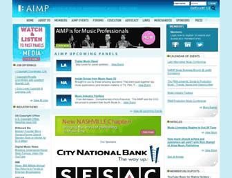 aimp.org screenshot