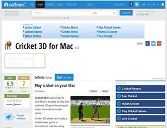 cricket-3d.en.softonic.com screenshot