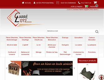 carre-lutz.com screenshot