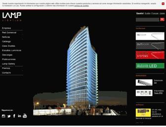 lamp.es screenshot