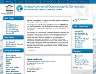 ioc-unesco.org screenshot