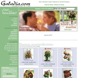 galadia.com screenshot