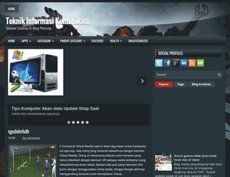 teknikinformasikomunikasi921.blogspot.com screenshot
