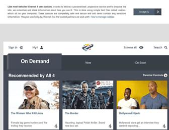 Thumbshot of Channel4.com