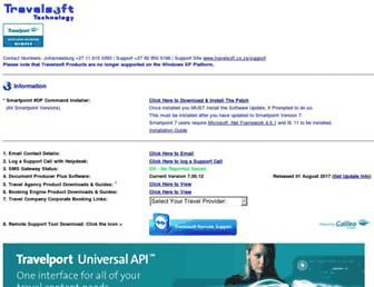 travelsoft.co.za screenshot