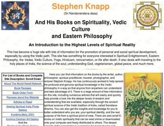 Thumbshot of Stephen-knapp.com