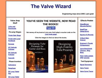 valvewizard.co.uk screenshot