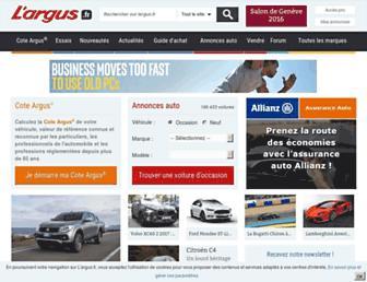 largus.fr screenshot