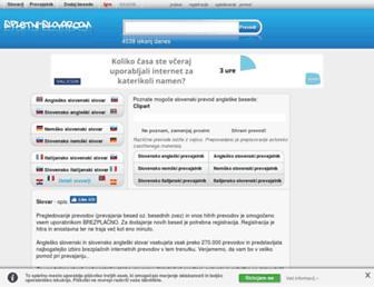 Thumbshot of Spletni-slovar.com