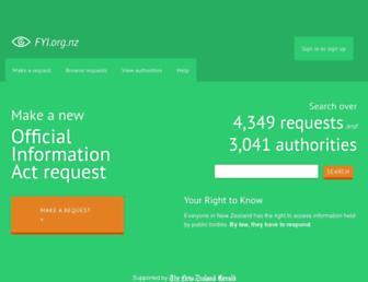 fyi.org.nz screenshot