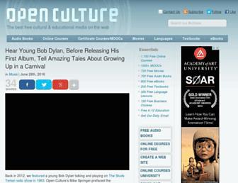 openculture.com screenshot