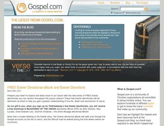 Thumbshot of Gospel.com
