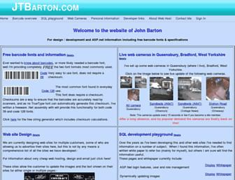 jtbarton.com screenshot