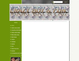 crazyboy.myewebsite.com screenshot