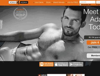 Thumbshot of Adam4adam.com