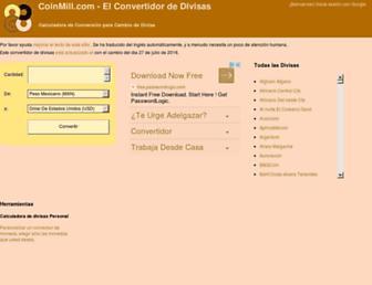 es.coinmill.com screenshot