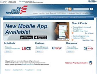 jobsnd.com screenshot