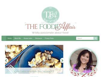 Thumbshot of Thefoodieaffair.com